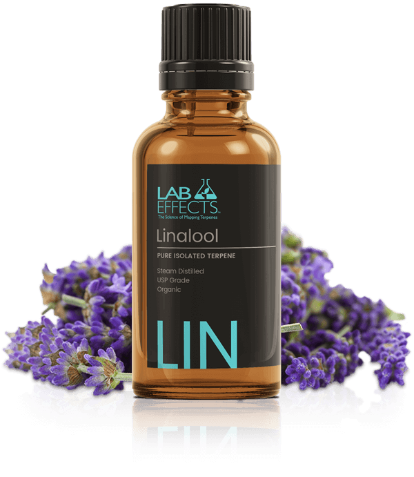 Lab Effects Isolated Terpenes Linalool CBD Global