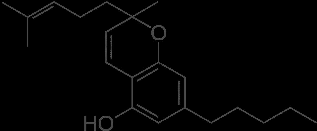 Cannabichromene Molecular Formula CBD Global