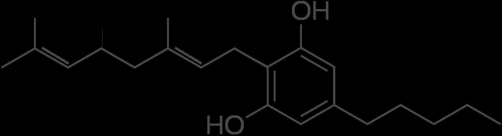 Cannabigerol Molecular Formula CBD Global