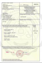 Certificate Of Origin CBD Global