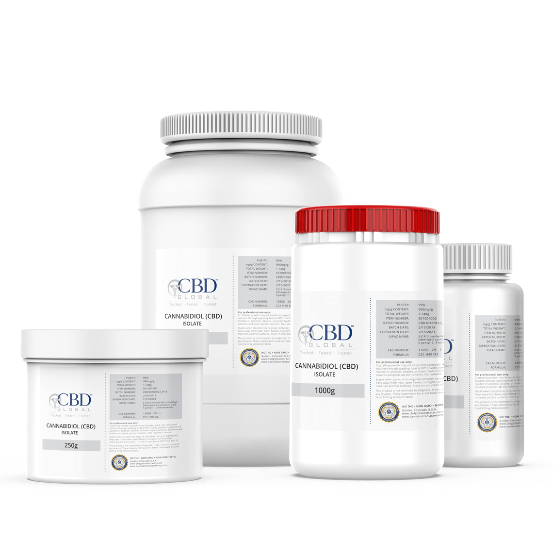 CBD Oil Isolate Bulk CBD Global