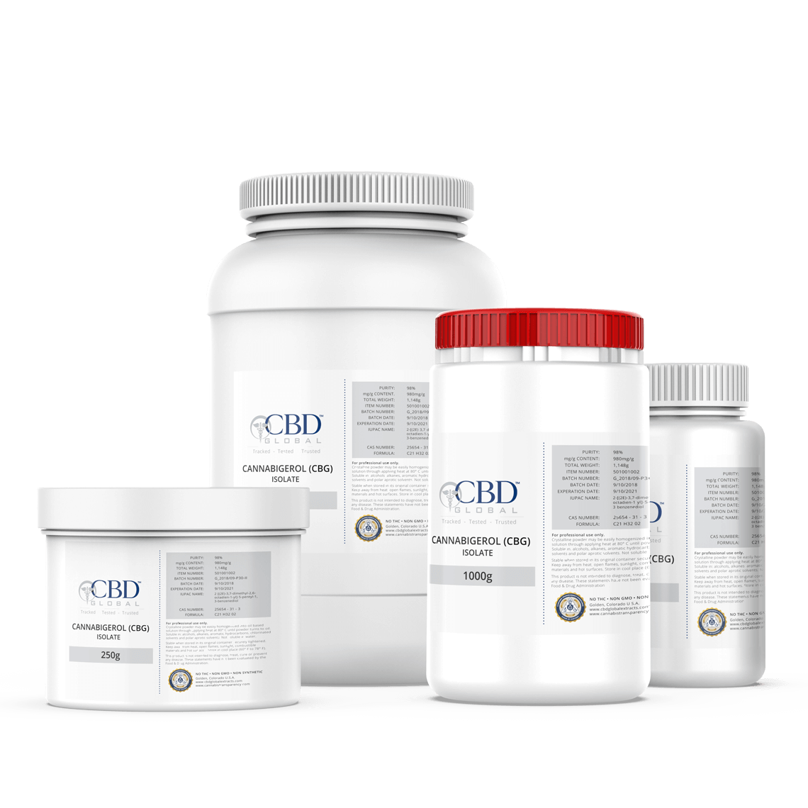 CBG Oil Isolate Bulk CBD Global
